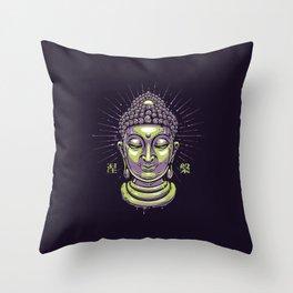 Great Buddha Throw Pillow