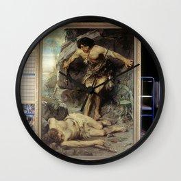 Nicolaas van der Waay - Kain en Abel Wall Clock