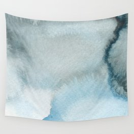 BLUE WINTER #3 Wall Tapestry