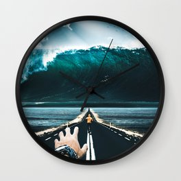 Face Your Fears Wall Clock