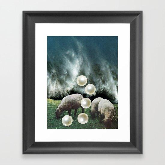 PEARLS Framed Art Print
