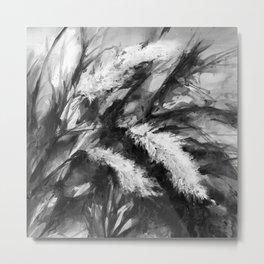 Pampas Grass 1j by Kathy Morton Stanion Metal Print