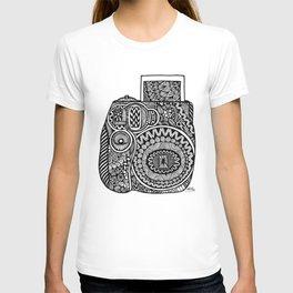 Zentangle - Polaroid  T-shirt