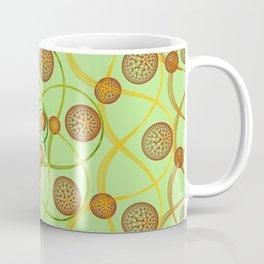 Spiral Round Green Coffee Mug