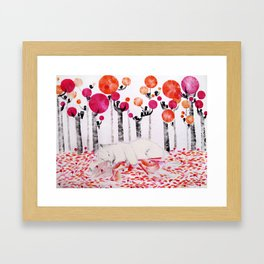 Autumnal Dreaming Framed Art Print