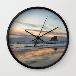 Pacific Glow Wall Clock