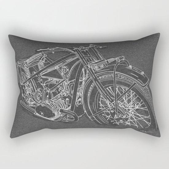 Vintage BMW R32 Motorcycle Rectangular Pillow