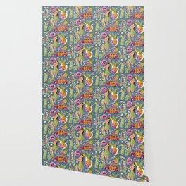 Hula Half Drop Wallpaper