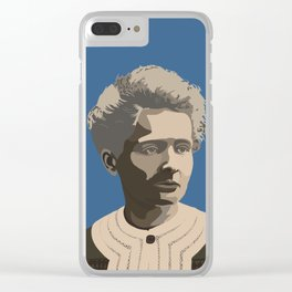 Marie Curie Clear iPhone Case