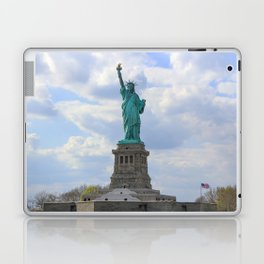 Lady Liberty and Her Flag Laptop & iPad Skin