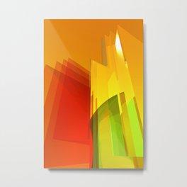 orange light Metal Print