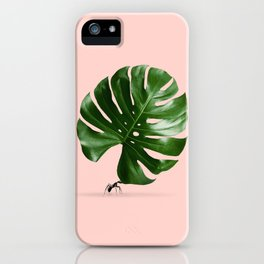 MONSTERA ANT iPhone Case