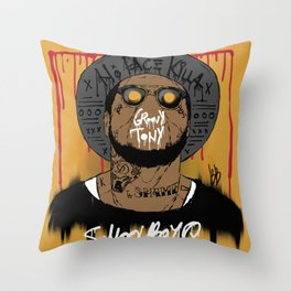 Schoolboy Q Throw Pillow