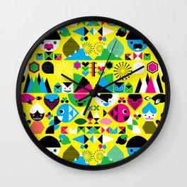 Geomonsters Wall Clock