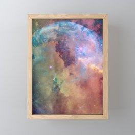 Celestial Sky Framed Mini Art Print