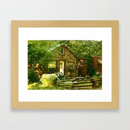 Country Cottage Framed Art Print