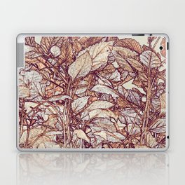 abstract camouflage leaves Laptop & iPad Skin
