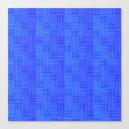 Interpretive Weaving (Nightfall) Canvas Print