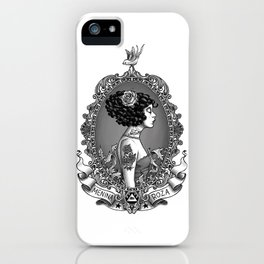 Menina Roza iPhone Case