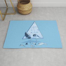 Bermuda triangle Rug