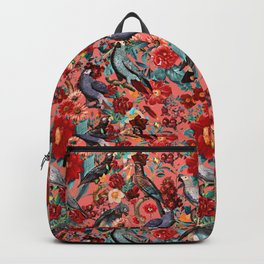 FLORAL AND BIRDS XIX Backpack