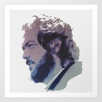 kubrick Art Prints featuring Kubrick by Davidjonesart