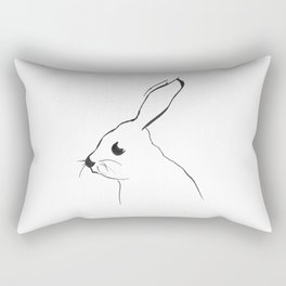 Mr Hare Rectangular Pillow