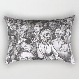 Basement Party Rectangular Pillow