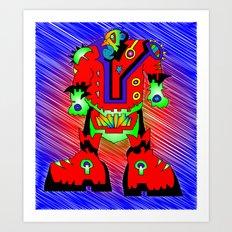 Sgt. Spikes Art Print