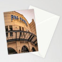 Pittsburgh Baseball Park Closeup Print Stationery Cards