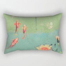 Koi Dreams Rectangular Pillow