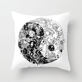Sid-Sang Throw Pillow
