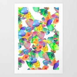 Cromatic Circle Art Print