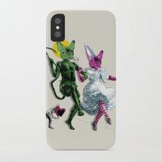 Dance, Chauncey, Dance - French Bulldog iPhone X Slim Case