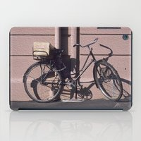 1984 iPad Cases featuring PARIS BIKE 1984 by Bruce Stanfield