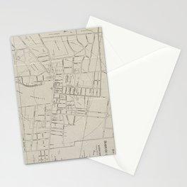 Vintage Map of Princeton NJ (1915) Stationery Cards
