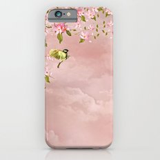cherry blossom in the sky iPhone 6s Slim Case