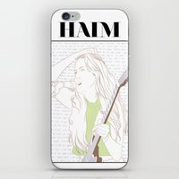 haim iPhone & iPod Skins featuring Alana Haim by chazstity