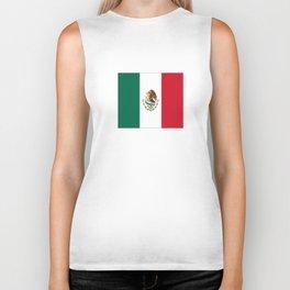 Flag of mexico- mexico,mexico city,mexicano,mexicana,latine,peso,spain,Guadalajara,Monterrey Biker Tank