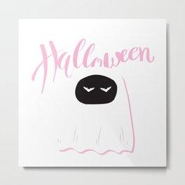 halloween rosa Metal Print