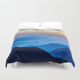 Mountains 11 Duvet Cover