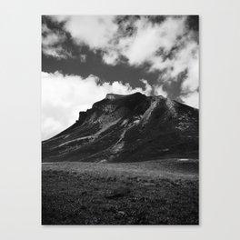 DARKNESS FALLS ACROSS THE MOUNTAIN / Bregenz Forest, Austria Canvas Print
