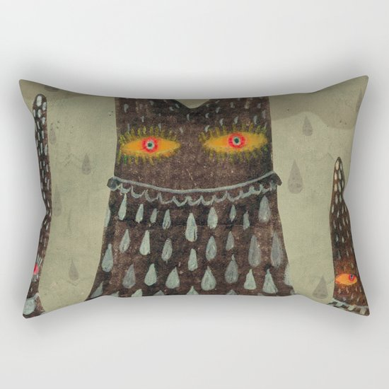 The Night Lurkers Rectangular Pillow