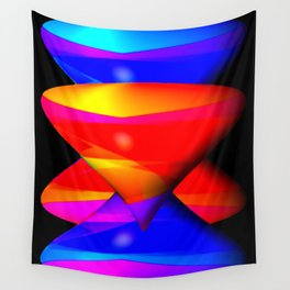 Perspective by funnels ... Wall Tapestry