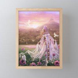 Light Sorceress Framed Mini Art Print