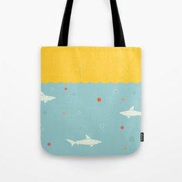 School of Sharks Tote Bag