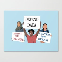 The American Dream Canvas Print