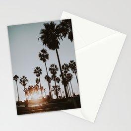 palm trees vi / venice beach, california Stationery Cards