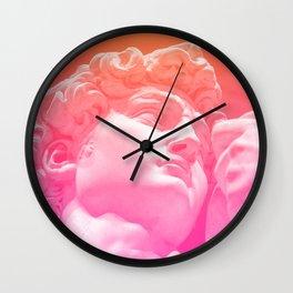 David En Rose Wall Clock