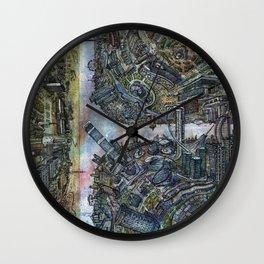 Tselinograd - Astana - Inception Wall Clock